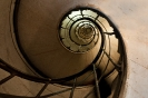 Stairs to Arc de Triomphe